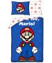 Nintendo Mario It's-a Me Single Duvet Cover Set - European Size