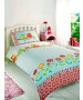 Owls Double Duvet Cover and Pillowcase Set