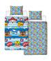 Paw Patrol Peek Single Duvet Cover Set - Rotary Design