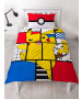 Pokémon Memphis Single Duvet Cover and Pillowcase Set