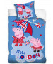 Peppa Pig London Single Duvet Cover Set -  European Size
