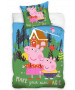 Peppa Pig Magic Single Duvet Cover Set -  European Size