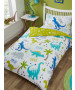 Roarsome Dinosaur Single Duvet Cover and Pillowcase Set