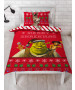 Shrek Merry Single Duvet Cover and Pillowcase Set