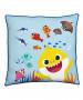 Baby Shark Rainbow Square Cushion