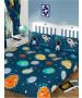 Solar System Planets & Space Double Duvet Cover Set