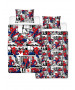 Spiderman Metropolis Single Duvet Cover and Pillowcase Set