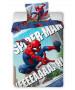 Spiderman Yeah Single Duvet Cover Set - European Size