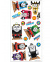 Thomas and Friends Wall Stickers - 18 Pieces