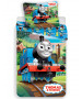 Thomas & Friends Track Single Cotton Duvet Cover Set - European Size