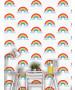 Rainbow Wallpaper White and Multi - World of Wallpaper WOW041