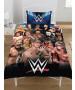 WWE Legends Single Duvet Cover and Pillowcase Set