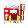 Leomark Wooden Fire Station with Accessories