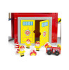 Leomark Extendable Wooden Fire Station