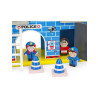 Leomark Wooden Police Station with Accessories