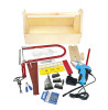 Leomark Tool Set with Wooden Tool Box - 47 pieces