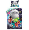 Abominable Single Cotton Duvet Cover and Pillowcase Set