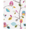Bright Owls White Wallpaper 10m