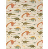 Dinosaur Wallpaper - Natural and Green (93633-10)