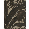 Versace Giungla Palm Leaves Wallpaper - Black and Gold - 10m x 70cm 96240-1
