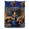 Anne Stokes Fierce Loyalty Dragon Double Duvet Cover Set