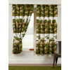 Army Camp Camouflage Lined Curtains