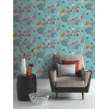 Mystical Forest Wallpaper - 664801 Teal
