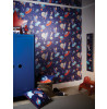 Blue Starship Glitter Wallpaper - Arthouse 668000