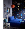 Cosmos Space Wallpaper - Charcoal - Arthouse 668100 Bedroom