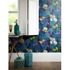Tropics Navy Pindorama Wallpaper - Arthouse 690101