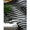 Tropics Serengeti Black Zebra Print Wallpaper - Arthouse 670300