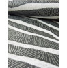 Arthouse Tropics Serengeti Zebra Print Wallpaper - Black - 670300