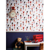 Arthouse Drummer Boy Soldier Wallpaper Bedroom - Red - 696003