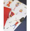 Drummer Boy Soldier Wallpaper - Red - 696003 Arthouse