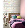 Girls Life Bookshelf Wallpaper - Multi - Bedroom 696004 Arthouse
