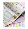 Girls Life Bookshelf Wallpaper - Multi - Arthouse 696004
