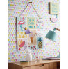 Feature Wall Jester Geometric Wallpaper Bright Multi Arthouse 696005