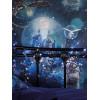 Magical Kingdom Wallpaper Blue Arthouse 696100