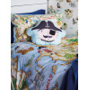 Pirates Ahoy Eye Patch Pocket Shaped Cushion