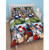 Marvel Avengers Shield Double Duvet Cover and Pillowcase Set