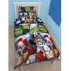 Marvel Avengers Shield Single Duvet Cover and Pillowcase Set
