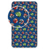 Avengers Single Fitted Sheet - Navy Blue