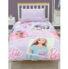 Barbie Lovestruck Single Duvet Cover and Pillowcase Set