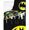 Batman Logo Gotham Single Reversible Duvet Cover Set