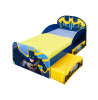 Batman Toddler Bed With Fibre Mattress and Storage
