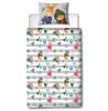 Peter Rabbit Forest Single Duvet Cover and Pillowcase Set