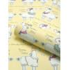 Belgravia Llama-Rama Wallpaper Yellow L9732