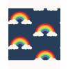 Blue Rainbow Wallpaper Navy 9990