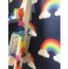 Blue Rainbow Wallpaper Belgravia 9990