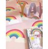 Pink Rainbow Bedroom Wallpaper Pink Belgravia 9991
